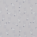 Premium Roller in Hippity Hop Patterned Fabric - Just Blinds